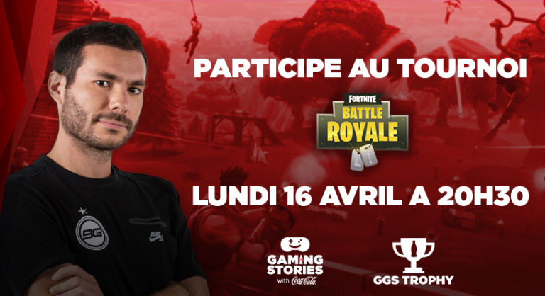 Fortnite : un nouveau tournoi Gaming Stories avec Bruce Grannec !