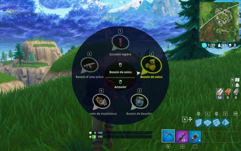 Fortnite Battle Royale : la communication rapide sans micro enfin dispo, comment l'utiliser