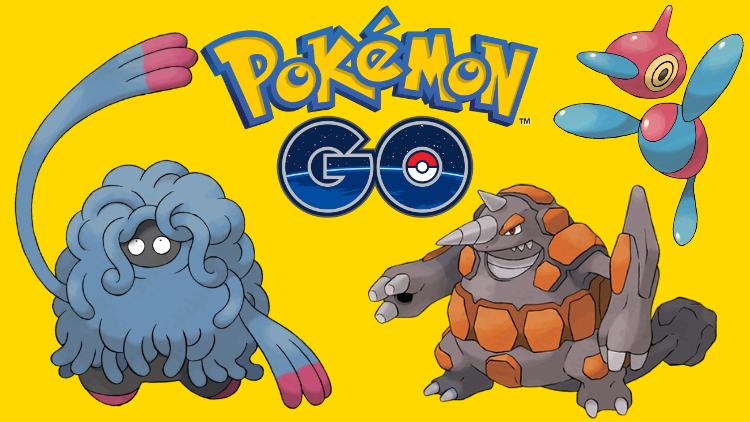 Pokémon GO : les Pokémon 4e génération arrivent ! Les Pokémon à capturer en priorité pour préparer la future mise à jour