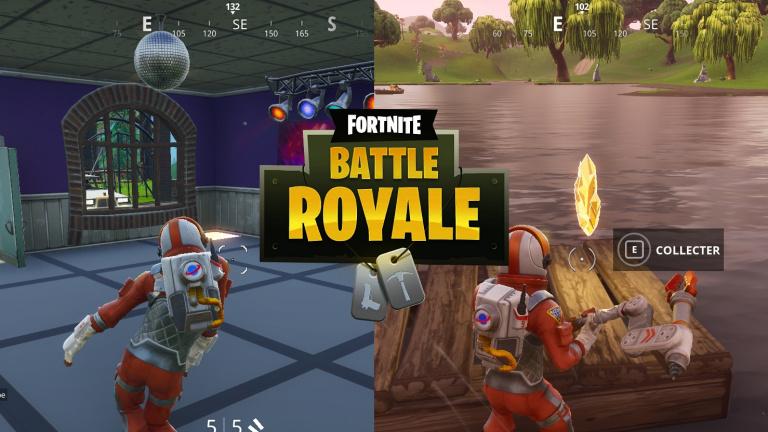 Fortnite Battle Royale, guide défis 8e semaine : emplacement des pistes de danse et emblème des trois bateaux