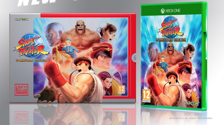 Street Fighter 30th Anniversary : La collector s'annonce également sur Xbox One