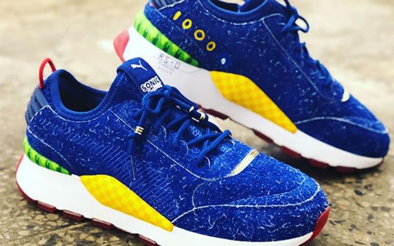 Sonic : Puma dévoile enfin sa paire de chaussures