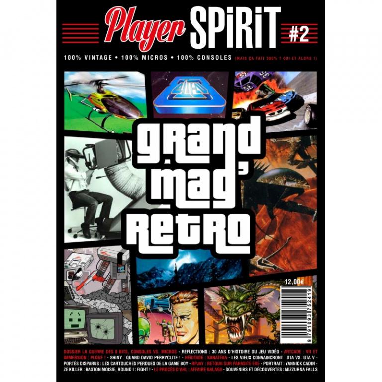 Player Spirit n°2 est disponible, retour sur la guerre des 8-bits...