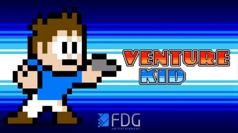 Venture Kid arrive sur PC et Switch