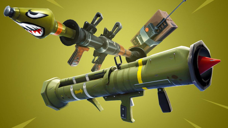 Fortnite Battle Royale : le missile guidé retiré indéfiniment