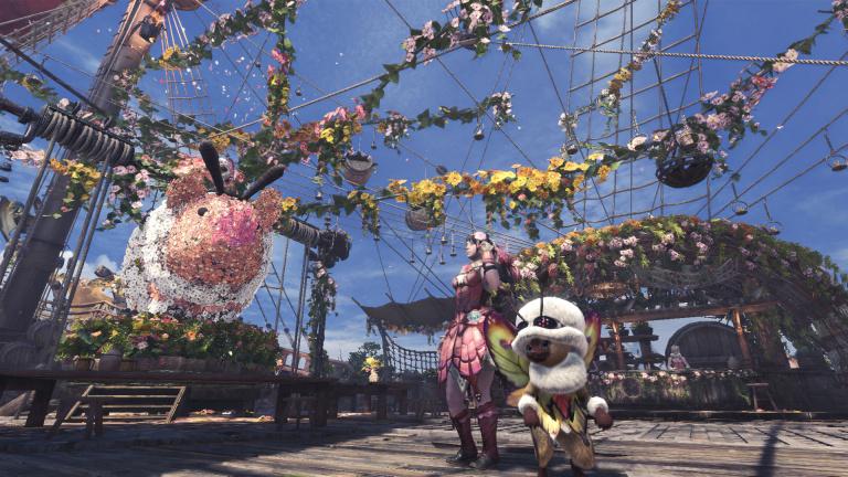 Monster Hunter World : le festival du printemps arrive à son terme