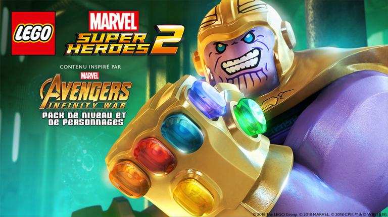 LEGO Marvel Super Heroes 2 se mettra aux couleurs du film Infinity War