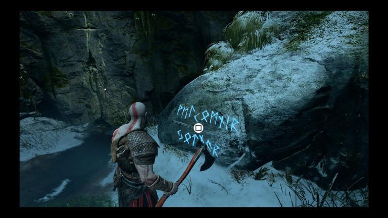 Inscriptions runiques - La rivière