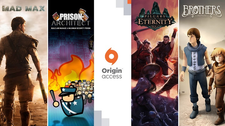 Origin Access : Huit nouveaux jeux, dont Mad Max, Spore et Pillars of Eternity