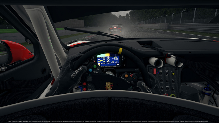 Assetto Corsa Competizione : quelques visuels exclusifs du circuit Monza