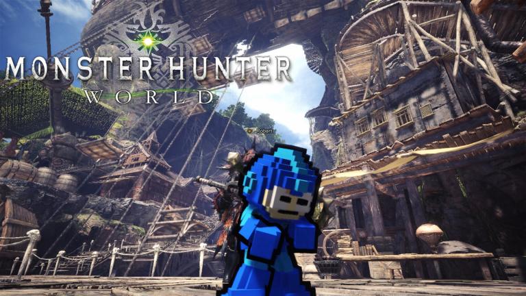 Monster Hunter World : comment obtenir l'armure Palico de Mega Man