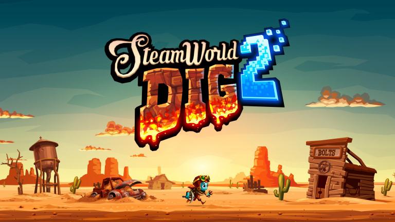 Steamworld Dig 2 sortira finalement le 4 mai en boîte sur PS4 et Switch