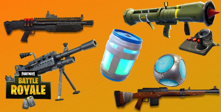 Arsenal Battle Royale - guide des armes et objets