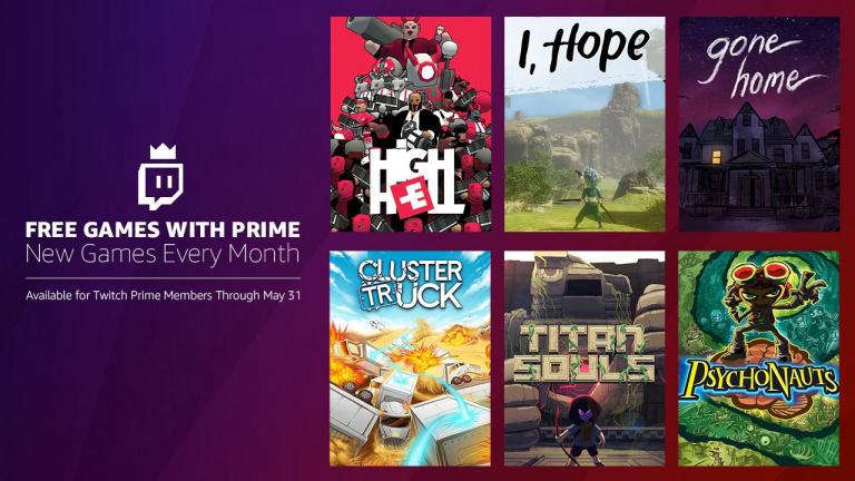 Twitch Prime : Psychonauts, Gone Home et quatre autres jeux offerts en mai