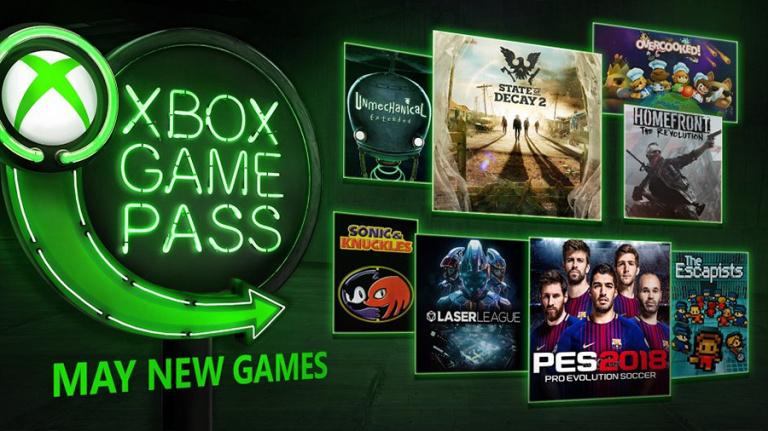 Xbox Game Pass : les nouveaux jeux du mois de mai