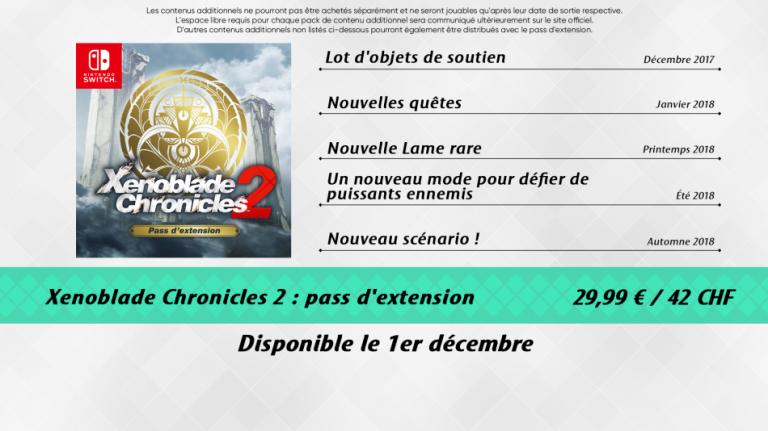 Xenoblade Chronicles 2 : de nouvelles quêtes et lames sont disponibles avec le pass extension