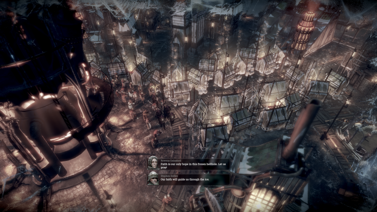 Frostpunk : un jeu de gestion intelligent par les créateurs de This War of Mine