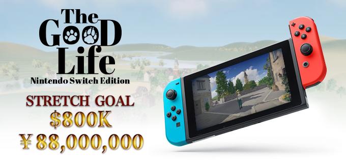 The Good Life réussit finalement sa campagne Kickstarter, une version Switch envisagée