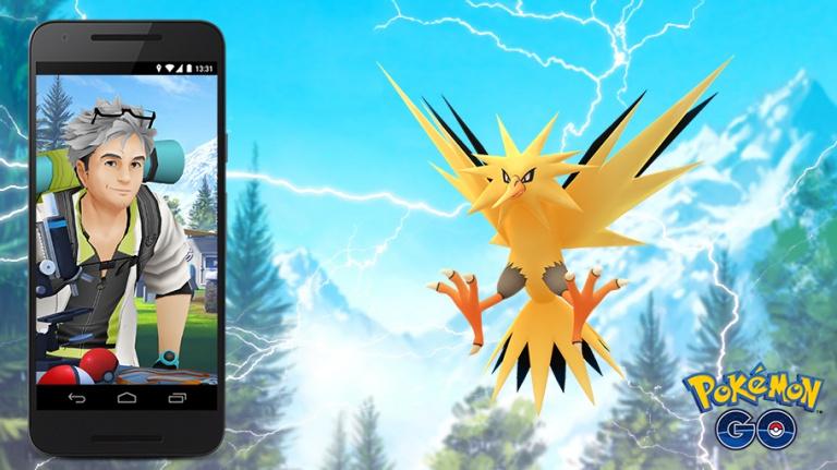 Pokémon GO : nouvelles Missions d'Étude (quêtes) pour capturer Electhor ! Notre guide