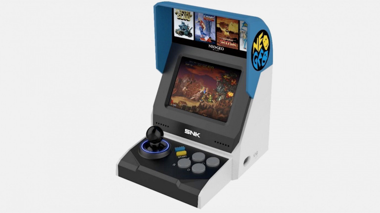 SNK Neo Geo Mini : Une mini borne munie de 40 jeux ?