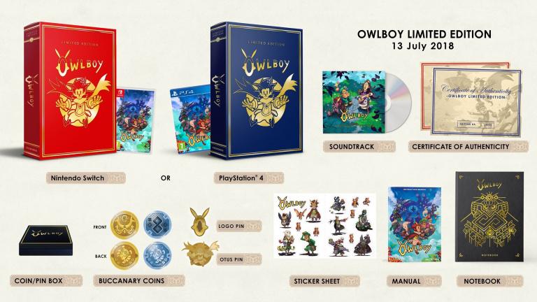 Owlboy : l'édition limitée précise son contenu et sa date de sortie