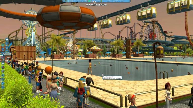 RollerCoaster Tycoon 3 disparaît de GOG et  Steam