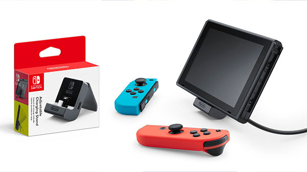 Un socle de recharge officiel en approche — Nintendo Switch