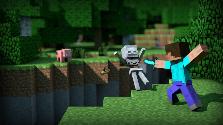 Minecraft : La version Bedrock arrive bientôt sur Switch