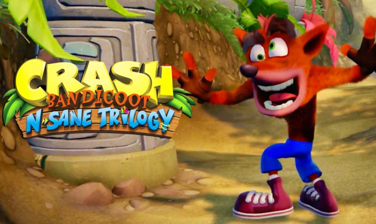 Crash Bandicoot N. Sane Trilogy : le poids de la version Switch précisé