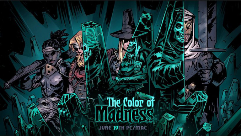 Darkest Dungeon : The Color of Madness arrivera le 19 juin