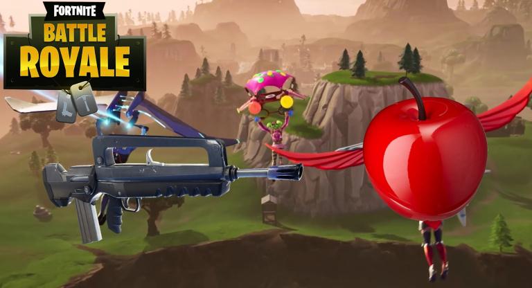 Fortnite, MAJ 4.2 : ajout des pommes, nouveau FAMAS et rééquilibrages de gameplay, tout ce qu'il faut savoir