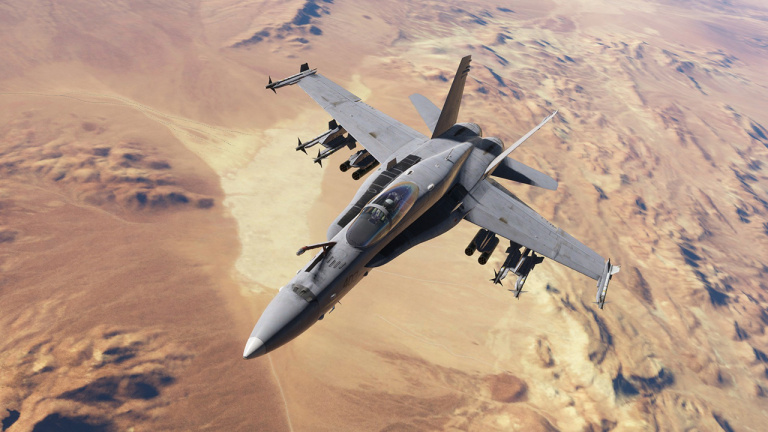 DCS World : F/A-18C et la carte du golfe Persique disponibles à la fin du mois