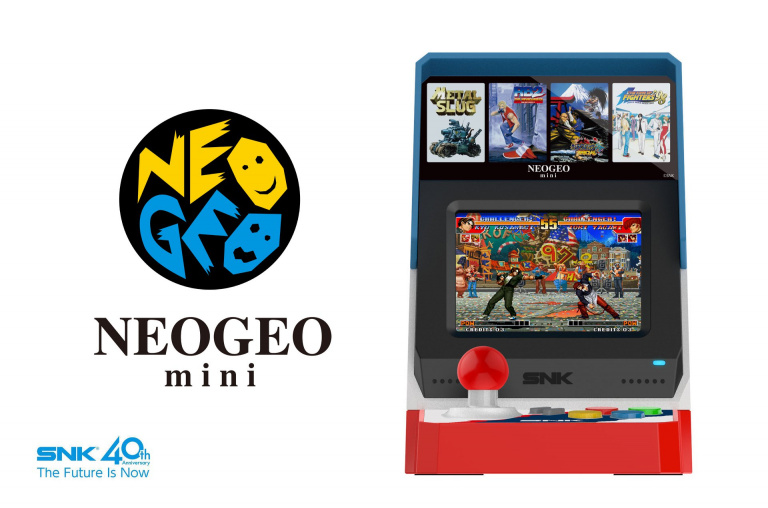 La Neo Geo Mini sera présentée en juin durant un stream