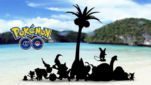 Pokémon GO : Les formes d'Alola arrivent