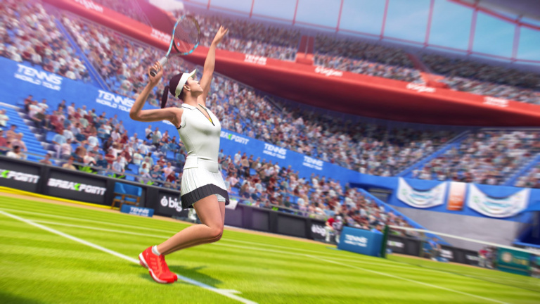 Tennis World Tour est sorti, mais sans mode online