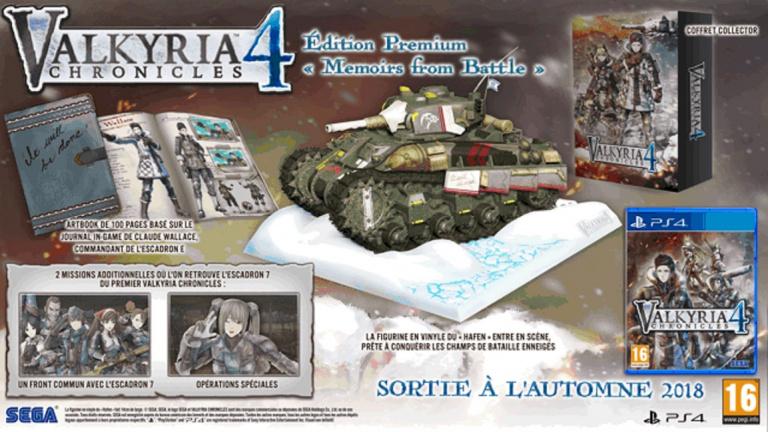 Valkyria Chronicles 4 : Des sous-titres en français, une collector, et une bande-annonce dévoilés