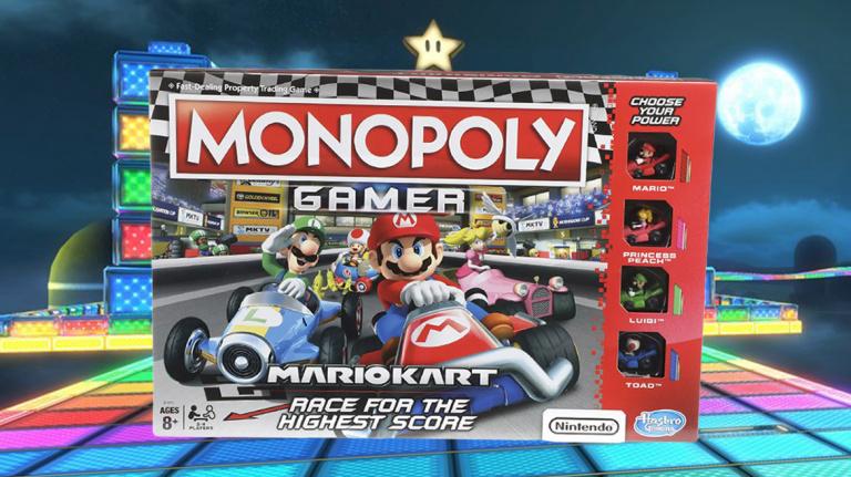 Le Monopoly Gamer Mario Kart officialisé et daté en France
