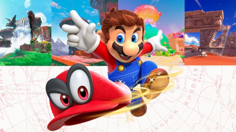 Super Mario Odyssey : notre héros s'habille en pilote de course