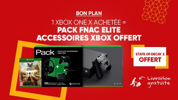 Un pack d'accessoires + State of Decay 2 offerts pour une Xbox one achetée chez la Fnac