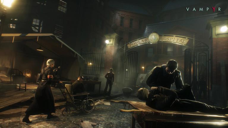 Vampyr : les développeurs présenteront le jeu en stream à 17h avant sa sortie