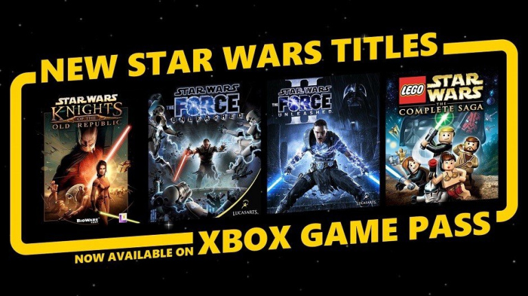 Xbox Game Pass : quatre jeux Star Wars ajoutés au catalogue