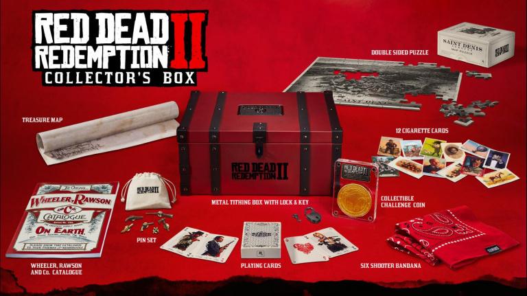 Red Dead Redemption II officialise ses différentes éditions