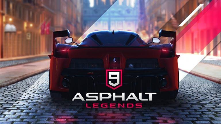 Asphalt 9 : Legends dans les starting-blocks