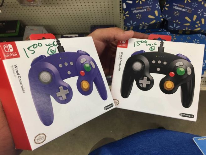 Nintendo Switch : des manettes officielles GameCube conçues par PowerA aperçues en boutique
