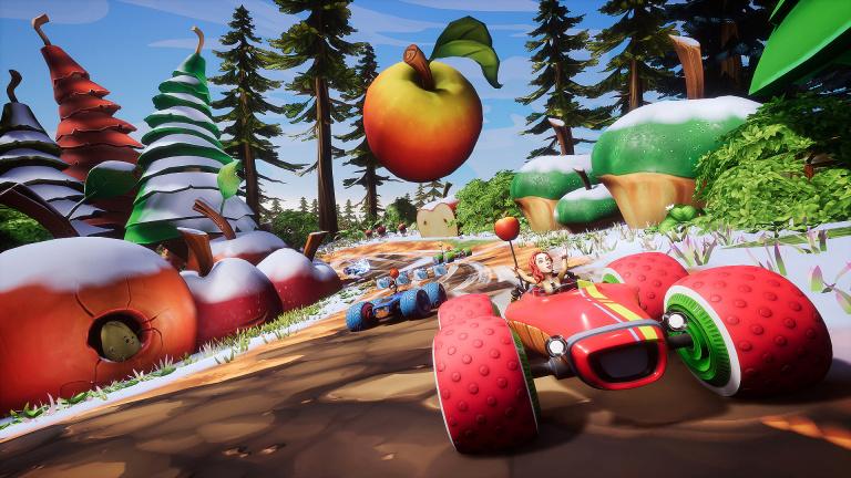 all star fruit racing le jeu de course plein de vitamines sortira le 13 juillet sur consoles. Black Bedroom Furniture Sets. Home Design Ideas