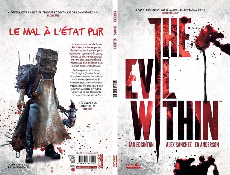 Le comics The Evil Within est désormais disponible en français