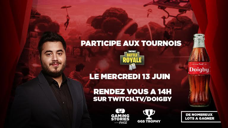 Fortnite : des tournois Gaming Stories sont prévus le mercredi 13 juin suivez les en direct ici !