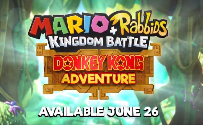 E3 2018 : Mario + Les Lapins Crétins : Donkey Kong Adventure disponible bientôt