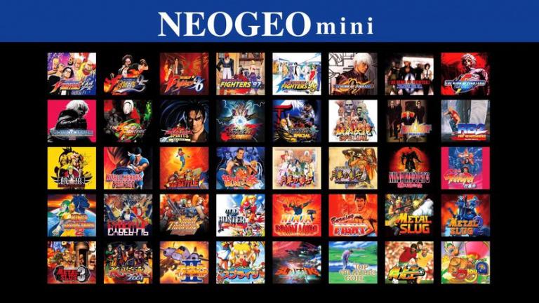 Neo Geo Mini : les précommandes ouvriront le 10 septembre en Europe