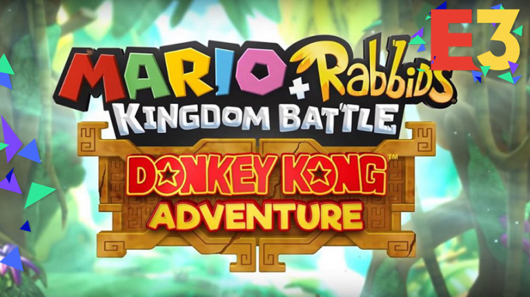 Mario + The Lapins Crétins Kingdom Battle : Donkey Kong Adventure
